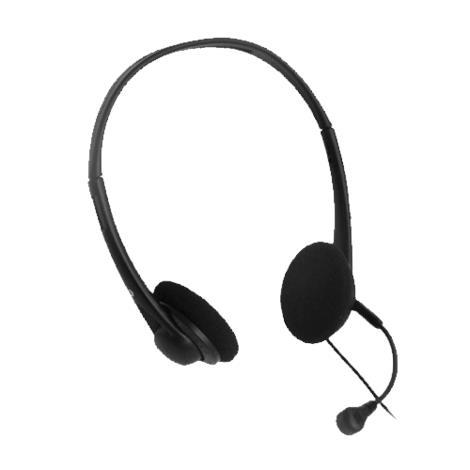 ClearSounds HD500 Handsfree Binaural Headset,Black,Each,CS-HD500