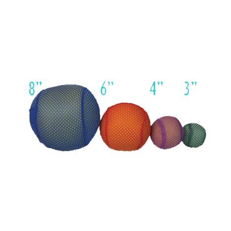 Mesh Covered Foam Balls,6,6/Pack,YTC-308AM