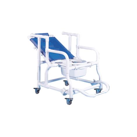Duralife Deluxe Reclining Shower And Commode Chair,0,Each,390