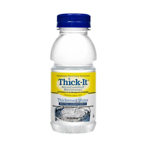 Kent Thick-It AquaCareH20 Thickened Water,Honey Consistency,8fl oz,24/Pack,B453-L9044