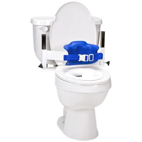 Columbia Lo-Back Toilet Support System with Padded Back,0,Each,0