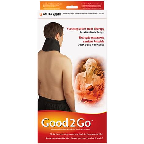 "Battle Creek Good2GO Microwave Moist Cervical and Pelvic Heat Therapy Pad,5"" x 16"",Each,492"