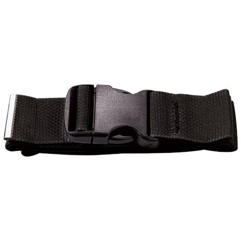 Prestige Medical Nylon Gait Transfer Belt,Black,Plastic Buckle,Each,622- BLK
