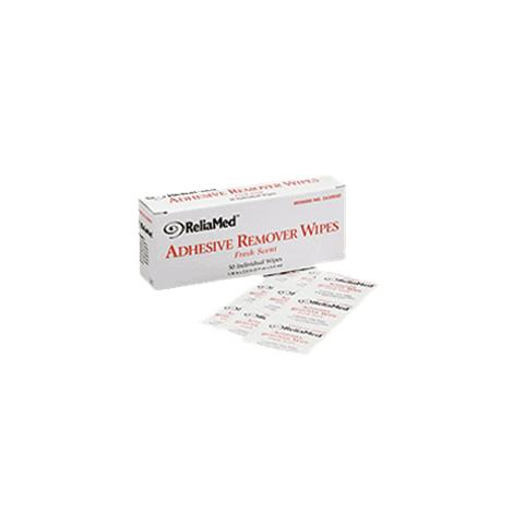 ReliaMed Adhesive Remover Wipes,1-1/4 x 3,75/Pack,16Pk/Case,ZA30075