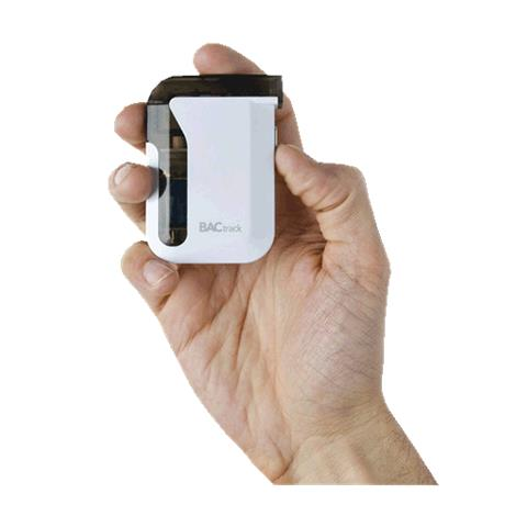 """BACtrack Mobile Breathalyzer Portable BreathTester,1.75""""x 2.75"""" x 0.63"""",Each,MB"""