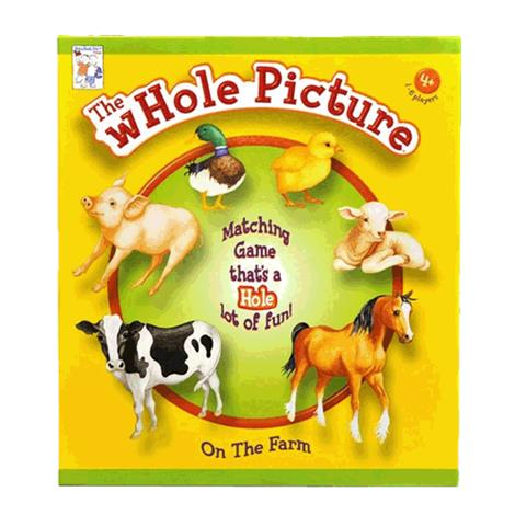 Playability Whole Picture Matching Game Kit,Game Kit,Each,48