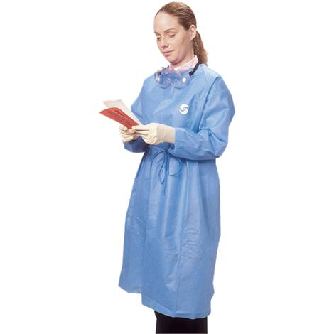 Covidien Kendall Chemoplus Protective Gowns,X-Large,Blue,30/Case,CT5101