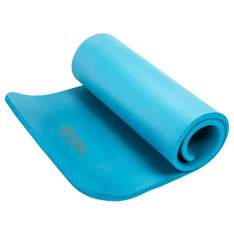 "Aeromat Elite Dual Surface Exercise Mat,3/4"" x 23"" x 56"",Blue,Each,71515"