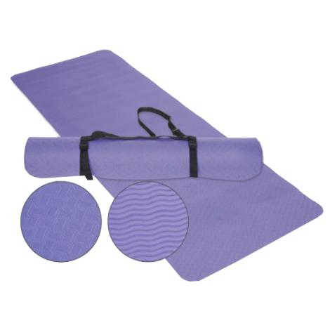 EcoWise Yoga Or Pilates Mat,Lavender,Each,31690