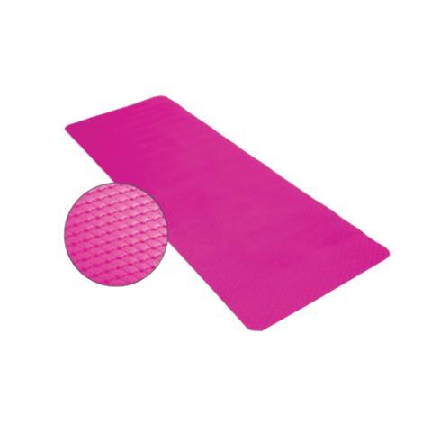 EcoWise Essential Yoga Or Pilates Mat,Azalea,Each,80102
