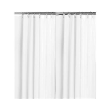 "Medline Rain Shower Curtain,72"" L x 36"" W,Each,RAQ36X72WHI"