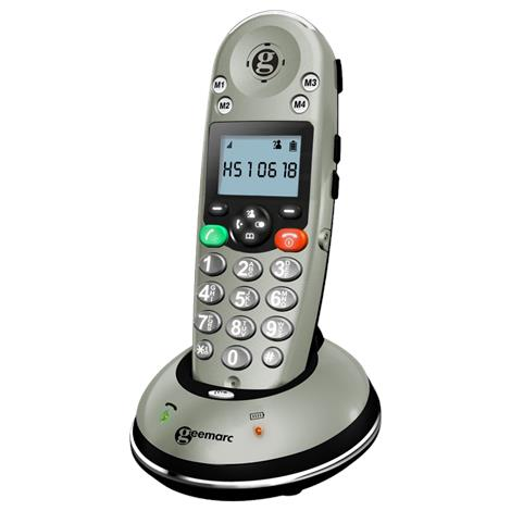 Geemarc Amplified Cordless Telephone,Cordless Telephone,Each,AMPLIDECT350