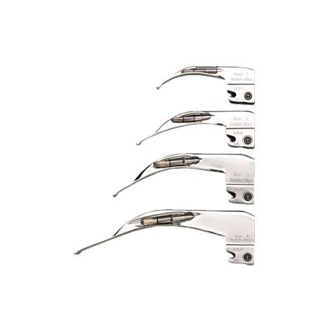 Welch Allyn Standard Laryngoscope Macintosh Blades,Size 4,Each,69044