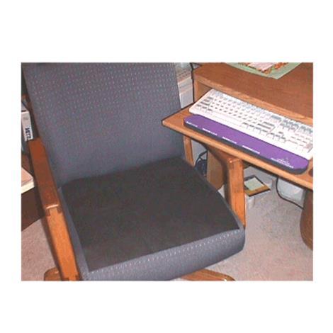 "Flat-D Flatulence Deodorizer Chair Pad,16"" X 16"",Each,Cp"