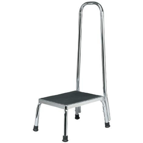 Anatomy Supply Step Stool With Handle,Handrail Footstool,Each,SS40