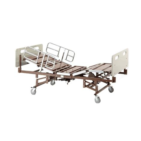 Invacare Bariatric Full Electric Bed with Half Rails and Expandable Mattress,Bariatric Bed Package,Each,BARPKG750-2-1633