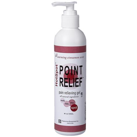 Fabrication Point Relief HotSpot Warming Gel,4oz Gel Pump Bottle,Each,#11-0780-1