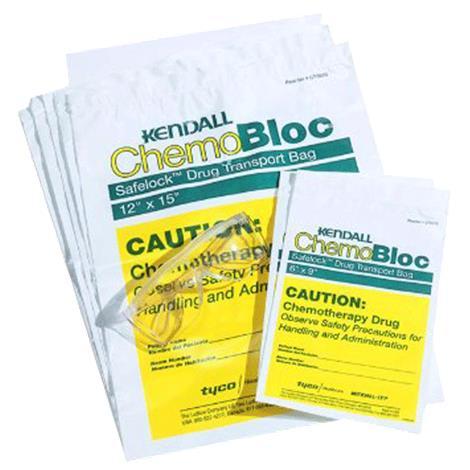 Kendall Safelock Chemo Transport Bag,6 x 9,200/Case,CT0575