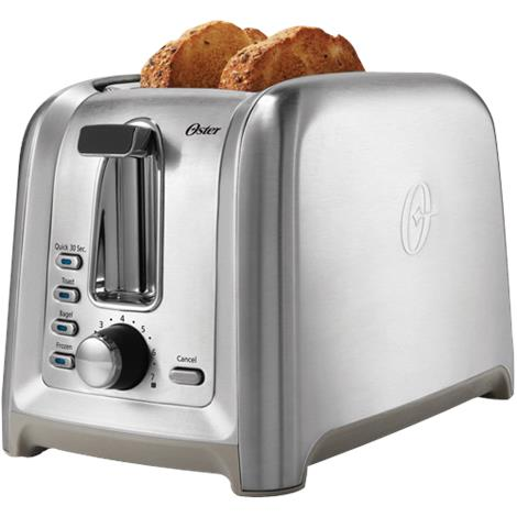 Toastmaster Stainless Steel Two Slice Toaster,Two Slice Toaster,Each,TM-22TS