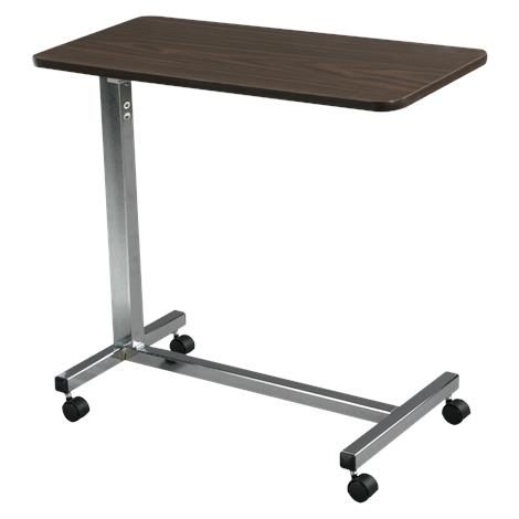 Drive Non Tilt Top Overbed Table,Chrome Base,Each,13003