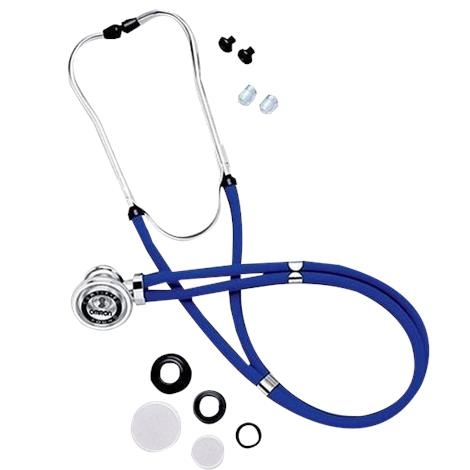 Omron 22 Inches Sprague Rappaport-Type Stethoscope,Black,Each,41622BLK