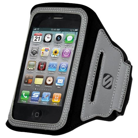 Scosche SoundKASE Ultra-light Sport Armband Case for iPod and iPhone,Armband,Each,HFIPAB