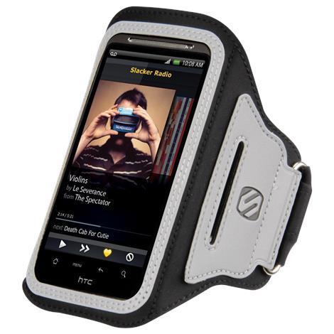 Scosche SoundKASE Ultra-light Sport Armband Case for Smartphones,Black,Each,HFDAB