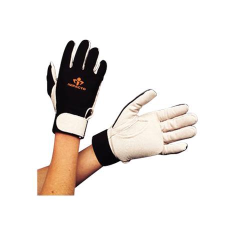 IMPACTO Full Finger Gloves,Large,Pair,403-30-L