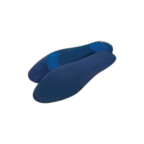 PediFix GelStep Replacement Insole with Soft Heel and Met Zones,X-Large,Pair,7053-X-SILC