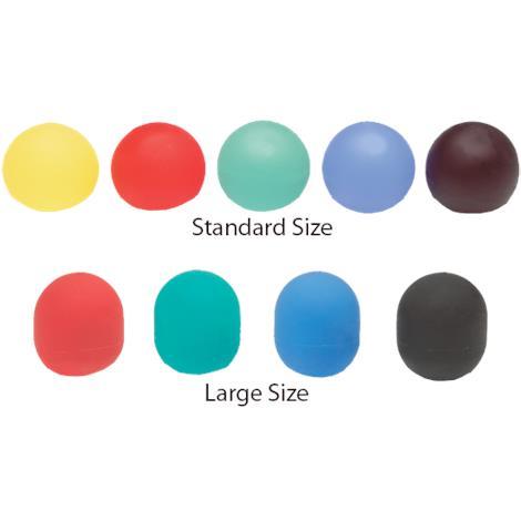 Thera Band Hand Exerciser,Standard,Extra Soft,Yellow,1.5lb,Each,NC52130 NCMNC52130