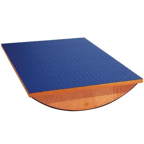 "A3BS Rectangular Rocker Balance Board,23.5""L x 16""W x 4""H (60cm L x 40cm W x 10cm H),Each,W15077"