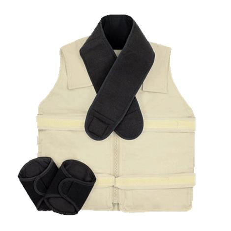 Polar Kool Max Zipper Vest Kit,0,Each,KMVZS