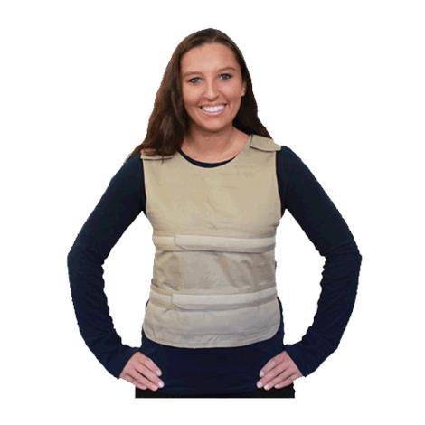 Polar Cool58 Phase Change Poncho Cooling Vest with Cool58 Phase Change Pack Strips,With Four 400g Cooling Packs,Each,PCV 400