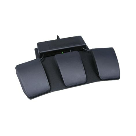 Triple-Action Foot Switch For Contoured Keyboards,Triple Action Foot Switch,Each,FS007TAF