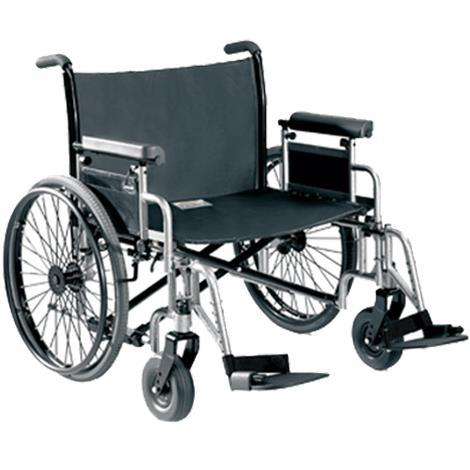 Invacare 9000 Topaz Bariatric Manual Wheelchair,0,Each,9TPZ