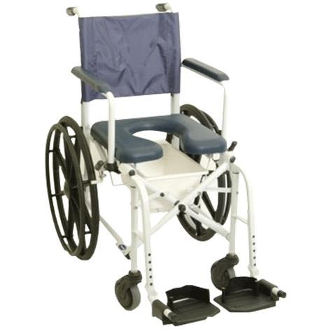 "Invacare Mariner Rehab Shower Commode Chair With 16 Inches Seat,Seat 16""W x 16""D,Each,6795"