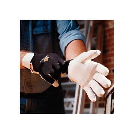 IMPACTO Full Finger Anti-Vibration Air Gloves,Large,Pair,BG413-L
