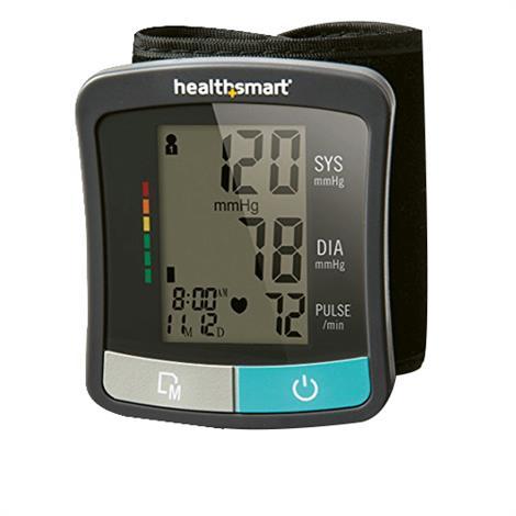 "Mabis DMI HealthSmart Standard Series Wrist Pressure Monitor,1.75"" x 1.25"" Wrist Cuff Fits 5.3""-8.5"",Each,04-810-001"