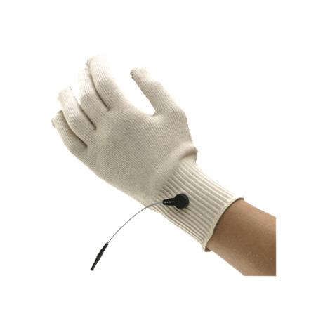 "BioMedical BioKnit Conductive Fabric Glove,Large,Fits up to 9"" Circumference At Hand Above The Knuckles,Each,GAR112"