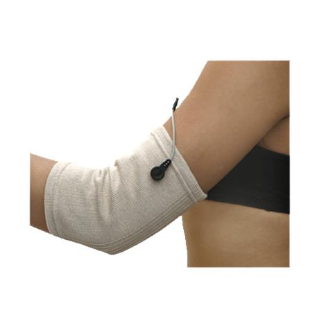 "BioMedical BioKnit Conductive Fabric Sleeves,2X-Large,Fits up to 28"" Circumference At Bottom of Bicep or Knee,Each,GAR104"