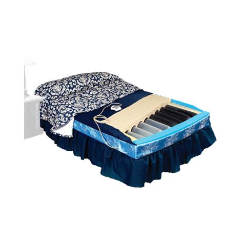 """Span America PressureGuard Turn Select In-Home Styles Therapeutic Mattress,75""""L x 54""""W,Full,Therapy in Center,Each,TS7554-CTR-29"""
