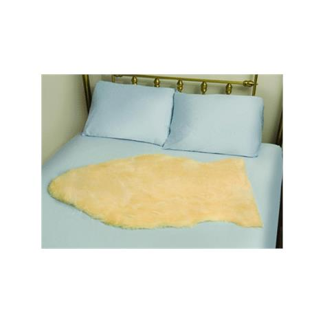 Mabis DMI Deluxe Natural Sheepskin Bed Pad,6sq ft to 9sq ft (36 x 36),Each,559-8079-0000