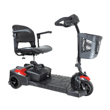 """Drive Spitfire Scout Three Wheel Travel Power Scooter,12AH Battery,16.5"""" Folding Seat,Each,SFSCOUT3"""