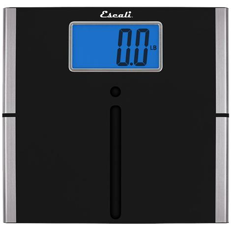 "Escali Easy Read Body Scale,12.25"" X 11.8"" X 0.75"",Each,US200L"
