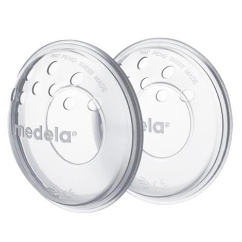 "Medela SoftShells Silicone Breast Shells For Sore Nipples,8"" x 4"" x 1-1/2"",2/Pack,12Pk/Case,80210"