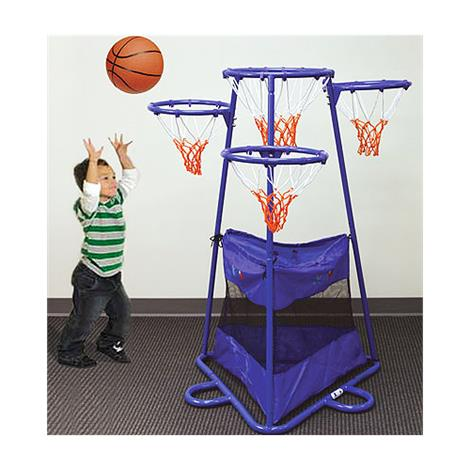 Four Ring Basketball Stand,31L x 27W x 54H,Each,2089