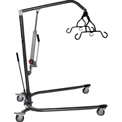 Medline Hydraulic Bariatric Patient Lift,Manual Hydraulic Lift With Sling,Each,MDS88200D