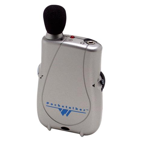 "William Sound Pocketalker Ultra Personal Sound Amplifier Without Earphone,3.38""L x 2.23""W x 0.88""H (85.8mm x 56.6mm x 22.3mm),Each,PKT D1-0"