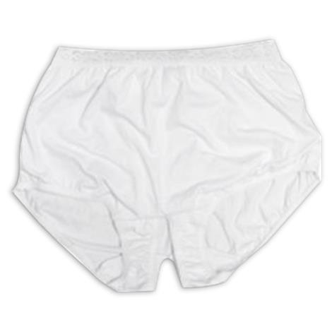 Options Style 81204 Ladies Split Cotton Crotch Brief With Built-In Ostomy Support,X-Large,10,Right Side Stoma,Each,81204XLR - from $28.49