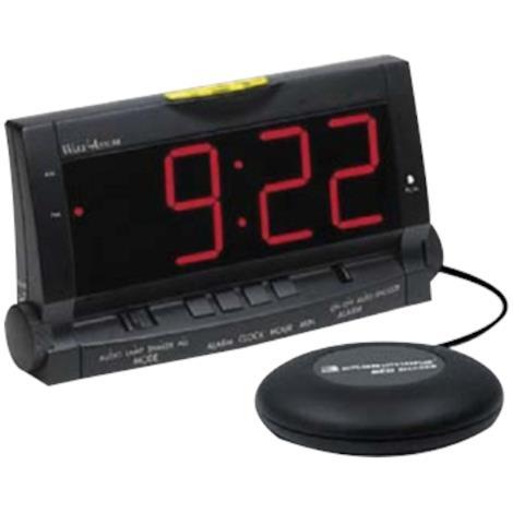 "Clarity Wake Assure Alarm Clock with Bed Vibrator,8""W x 3""D x 4-1/2""H,Each,AMER-WA"